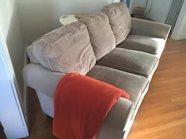 Beige 3-Seat Couch