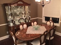 Walnut Italian Dinning Room - complete set.  St Catharines
