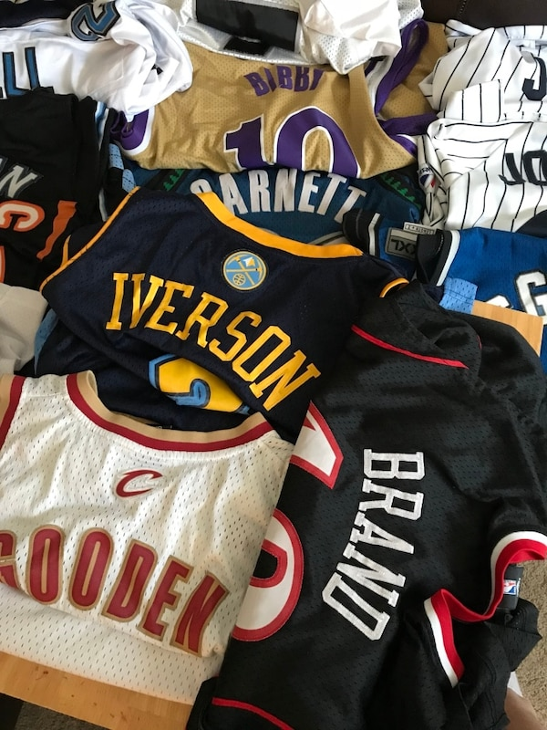 Jersey Lot ALL AUTHENTIC STITCHED