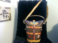black and brown leather handbag Washington, 20002