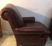 Brown Leather Chair Bethesda, 20817