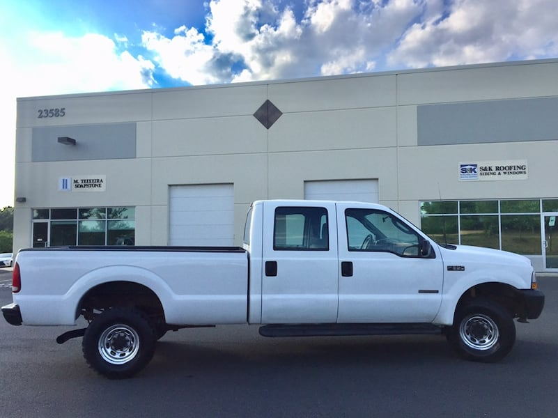 Ford F-350 4X4 PowerStroke Turbo Diesel Crew Cab Long Bed 4