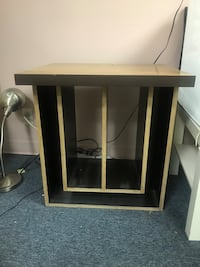 Sturdy Square End Table w/ Storage Rowland Heights, 91748