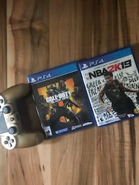 Ps4 controller and games  Halifax, B3R 2M7