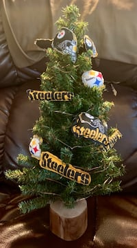 Steelers Christmas Tree Pasadena, 21122
