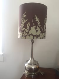Black and white floral table lamp Winter Park, 32789