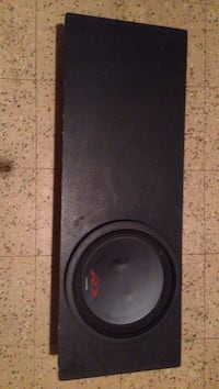 black and gray subwoofer speaker Winnipeg, R2X 0R1
