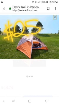*like new* 2 person- all weather hiking tent Clarksville, 47129