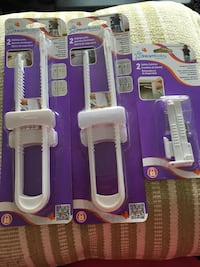 Dreambaby sliding locks & safety latches (6 total) Port Coquitlam