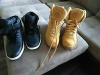 Cheap mens boots & pair of Starters