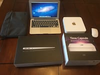 MacBook Air 11inch and Time Capsule Rockland, K4K
