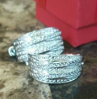 New, Never Used, Sterling Silver Earrings. Wichita, 67213