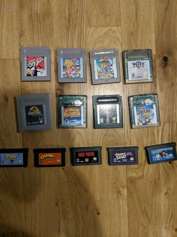 Various Gameboy/Gameboy Advance games