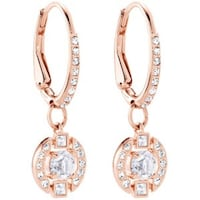 Swarovski rose gold earrings BNIB