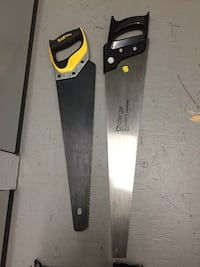 Saws x 3 and mitre box Langley, V3A 0J5
