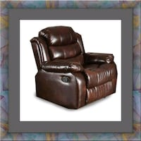 Burgundy recliner chair Temple Hills