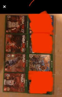 7 Xbox games Richmond Hill, L4C 3K8