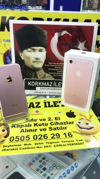 İphone 7 32 rose gold  Çorlu, 59850