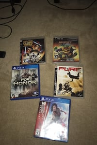 PS3 and PS4 games Markham, L6B 1K1