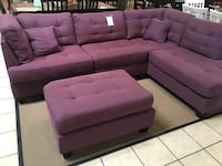 Sectional Chaise with Ottoman  Santa Fe Springs, 90670