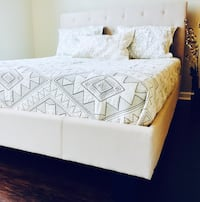 New Ivory Queen Bed Silver Spring, 20910