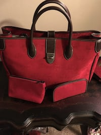 Dooney and Bourke Red and brown tote bag Columbus, 43205