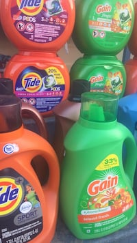 Laundry detergent & fabric softener  San Leandro, 94578