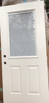 New entrance door with blinds Baltimore, 21220