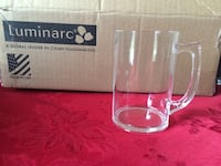 Set of 5, 14oz acrylic steins. New & Never used. Mississauga, L5M 4J3