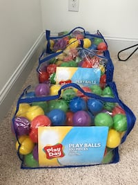 Plastic Balls for Kids' Play Willow Spring