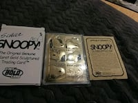 Snoopy trading card