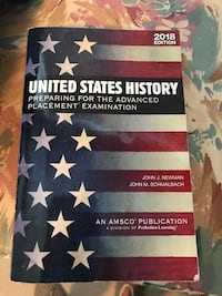 United States History Advanced Placement 2018 edition. Used by Gwinnett County HS juniors. Lawrenceville, 30043