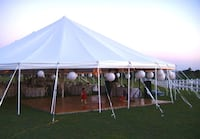 38 by 56 canopy circus type tent heavy-duty flameproof no poles includ Oklahoma City, 73170