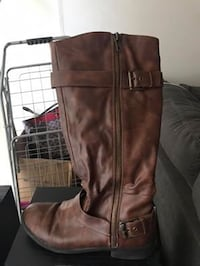 Women's Brown Leather Boots Toronto, M4Y 2P3