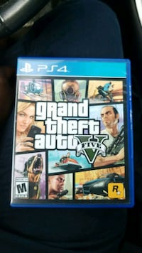 Sony PS4 Grand Theft Auto Five case Norfolk, 23502