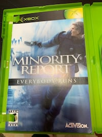 Xbox Minority Report Game  Bowie, 20715