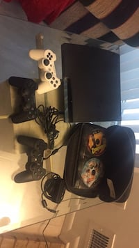 PS3 with SSD Drive, games, 3 Controllers Rockville, 20853