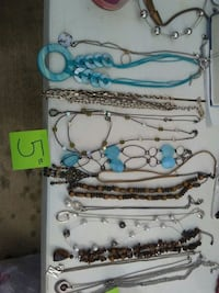 assorted-color necklace lot Brownsville, 78520