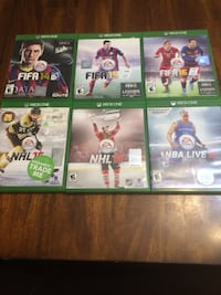 Sports games for Xbox One North Vancouver, V7P 1S3