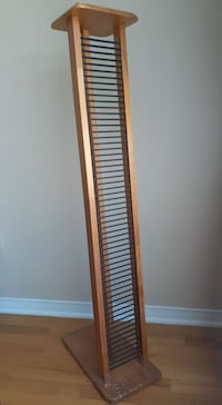 DVD wooden stand with 58 slots  in a very good condition