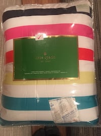 Kate spade double/queen bedding