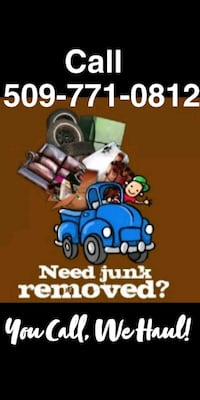 Hauling and property clean up Moses Lake, 98837
