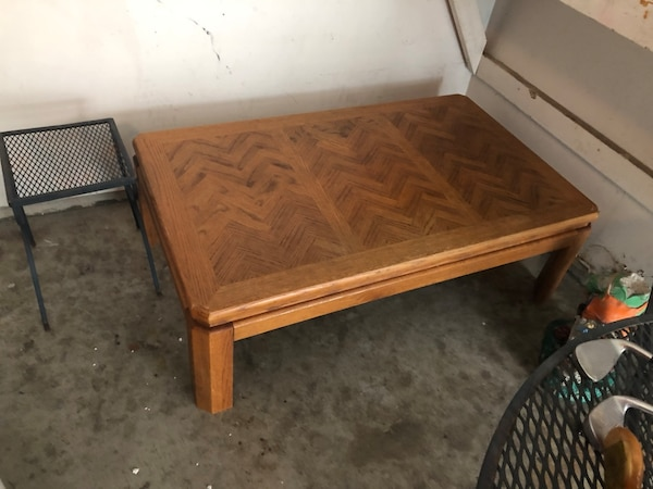 Used 10 Wooden Table 4 Feet Long 30