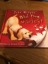 Book called Bad Dog Marley by John Grogan Hudson, 01749