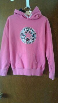 pink and white skull print sweater Winnipeg, R2C 3K4