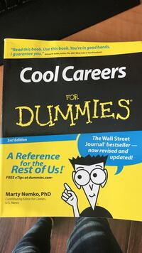 Cool careers for dummies book Surrey, V3T 0C5