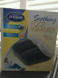 Soothing Foot Warmer with heat and vibration