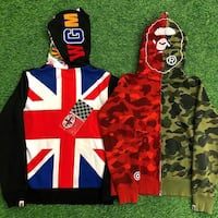 Bape Full Zip Jacket