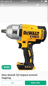 yellow and black DeWalt cordless power drill West Sacramento, 95691