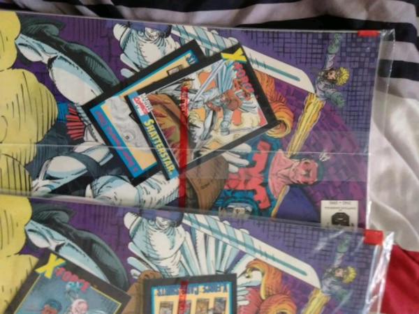 X-Force issue #1 All collector's issue comics A-E  f5fa30a6-ff79-4aba-b983-221becf30471